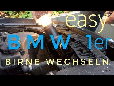 bmw 1er e87 standlicht wechseln xenon doovi. Black Bedroom Furniture Sets. Home Design Ideas