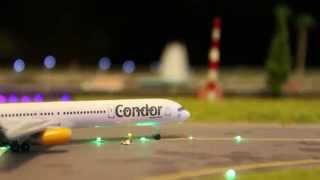 CONDOR-Trickfilm im Miniaturformat [HD] - Bensheim Airport