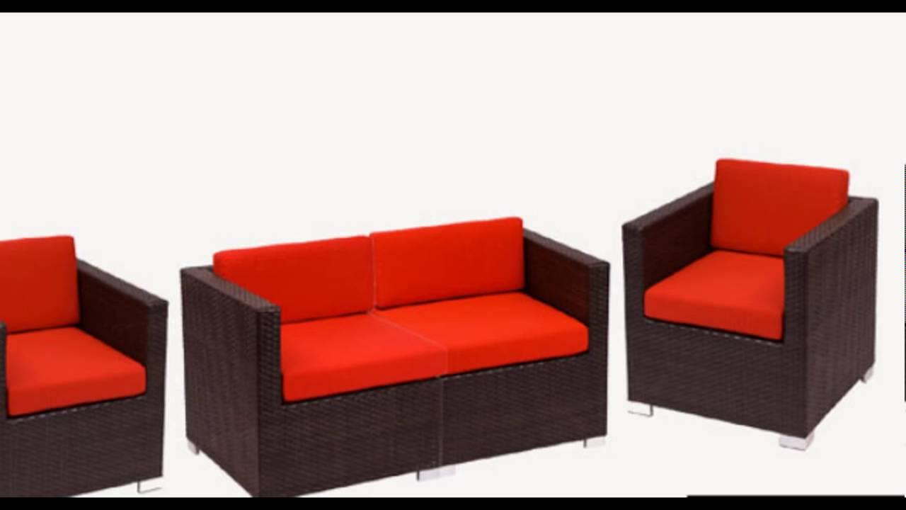 Model Sofa Rotan Sintetis Desain Rumah