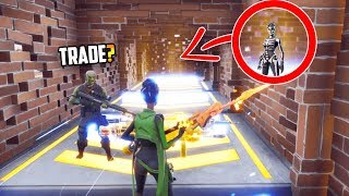 The ULTIMATE Scammer Experiment... What Would You DO?! - Fortnite Save The World