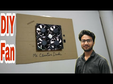 DIY - how to make powerful exhaust fan for kitchen/ bathroom( cheapest )..... Desi jugad
