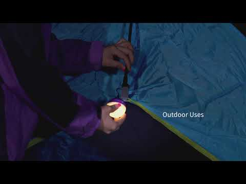 Lampu Lentera Camping Olight Obulb Purple LED Rechargeable