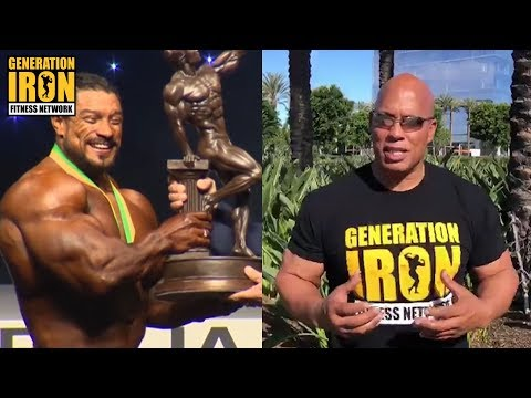 Shawn Ray Explains How Roelly Winklaar Beat William Bonac At Arnold Classic Australia 2018  GI News