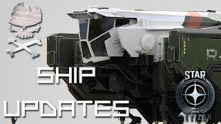 Star Citizen : Ship Updates and talking about freewarping 02-16-2018