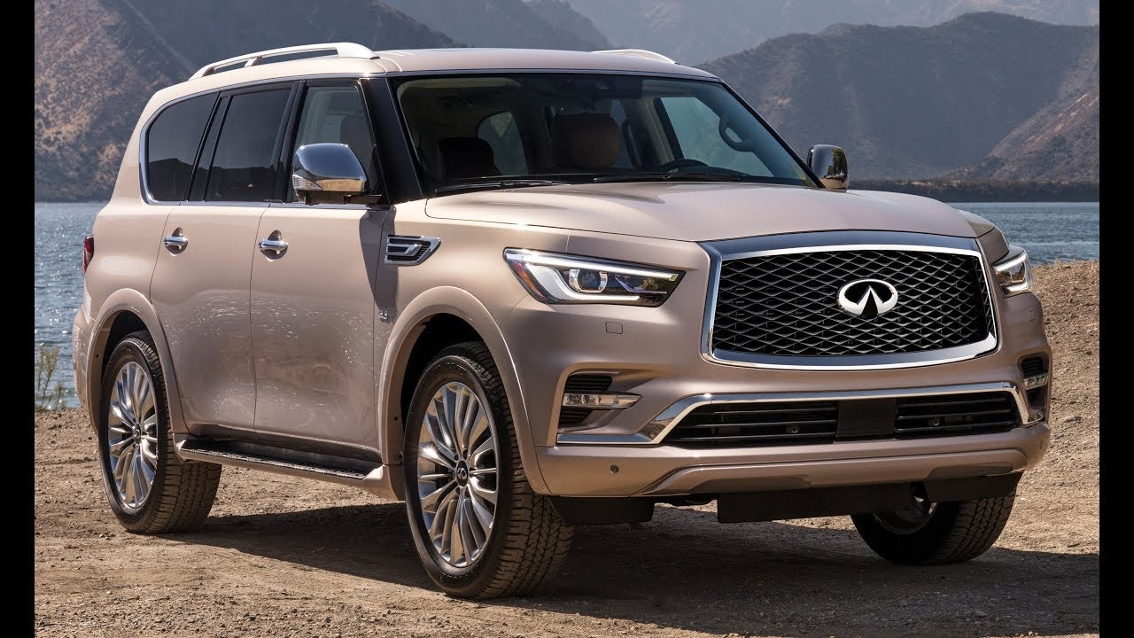 2018 Infiniti Qx80 Facelift Perfect Full Size Luxury Suv