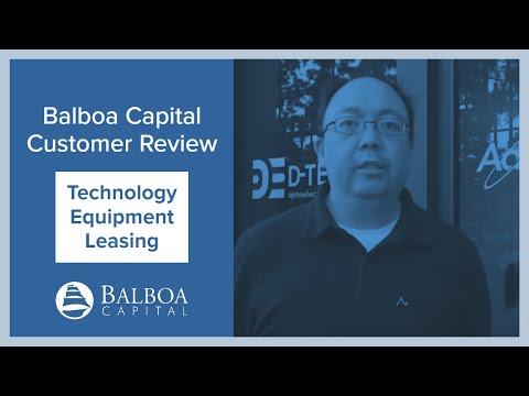 Technology Equipment Leasing | Balboa Capital Review