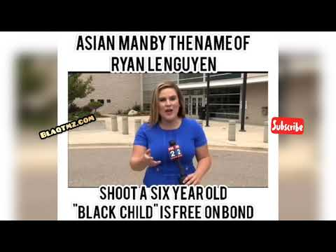 Asian Man shoots a 6 y/o lil blk boy & gets right out on low bail !
