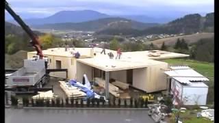 видео Дома из CLT