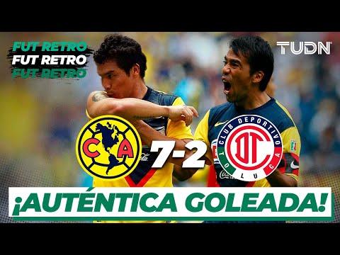 Fut Retro: Revive el América vs Toluca del Apertura 2009   TUDN
