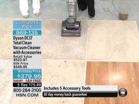 Dyson DC17 Total Clean Vacuum Cleaner with Accessories