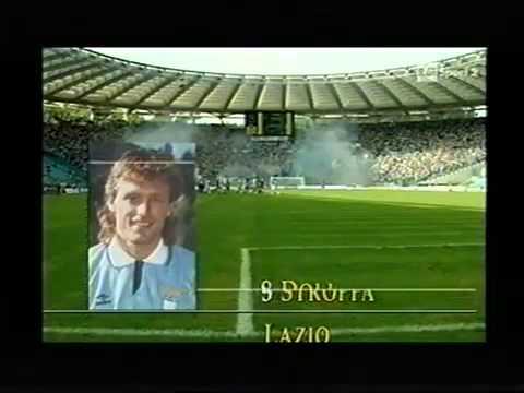 1991-1992 Lazio vs Inter 0-1 Ferri