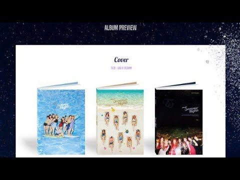 TWICE 2ND SPECIAL ALBUM 'Summer Nights'   Album Preview