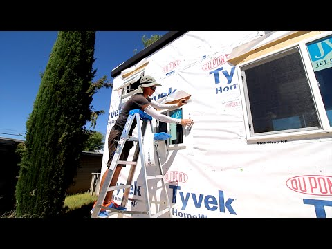 HOW TO INSTALL A TINY HOUSE WINDOW