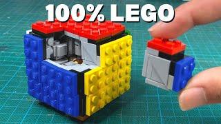 I made a fully functional LEGO RUBIK'S CUBE (3x3x3)