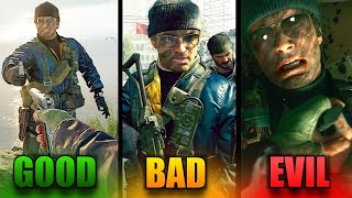 Call of Duty Black Ops Cold War: All Endings (Good, Bad & Evil)