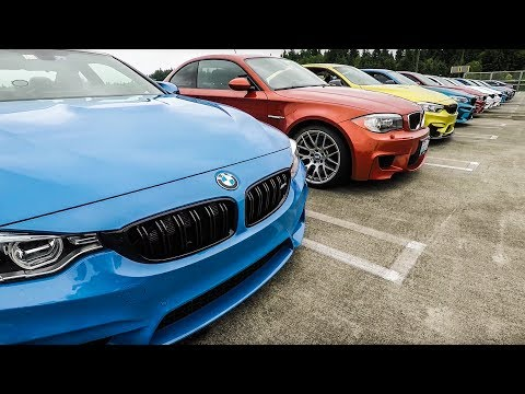 BMW M Owners Car Meet June 2017 - WA State