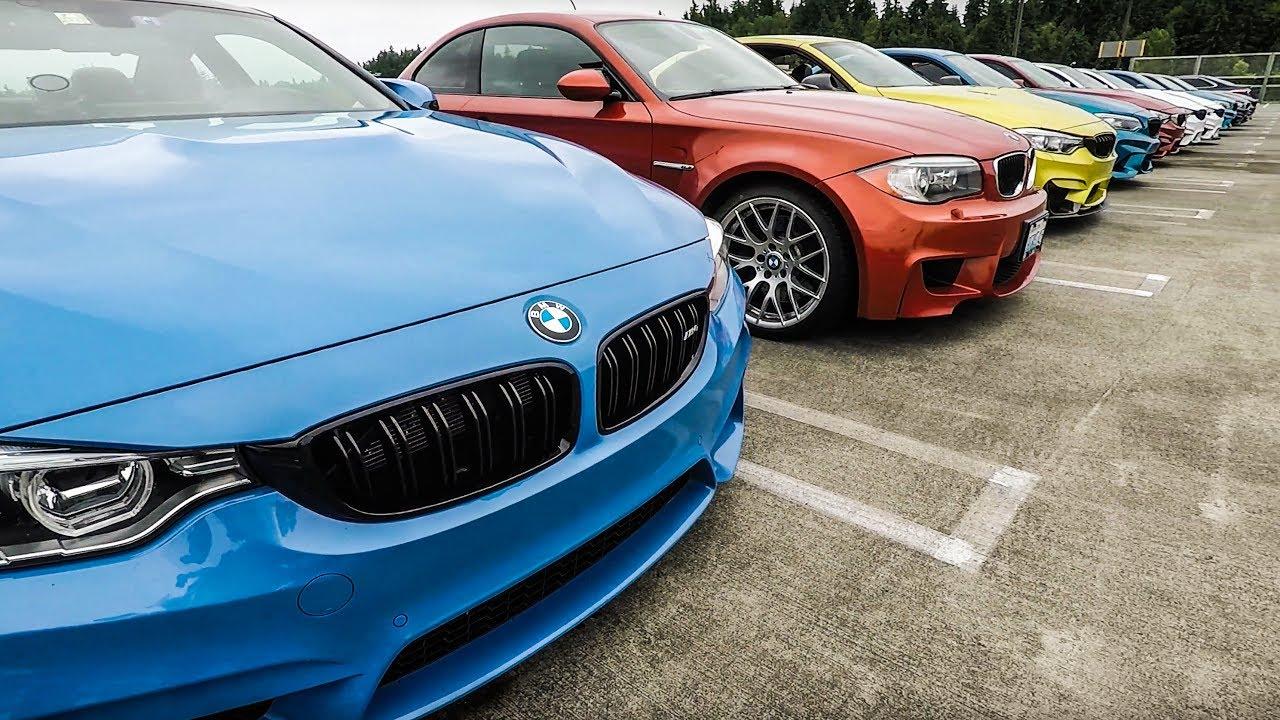 Bmw M Owners Car Meet June 2017 Wa State Youtube