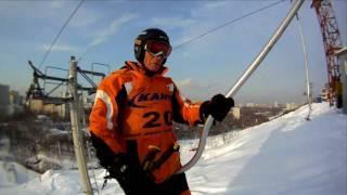 видео горные лыжи москва