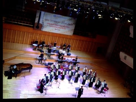 Phantom Of The Opera  Music My First Love   Accordion Orchestra Arr & Directed   Tai Hung