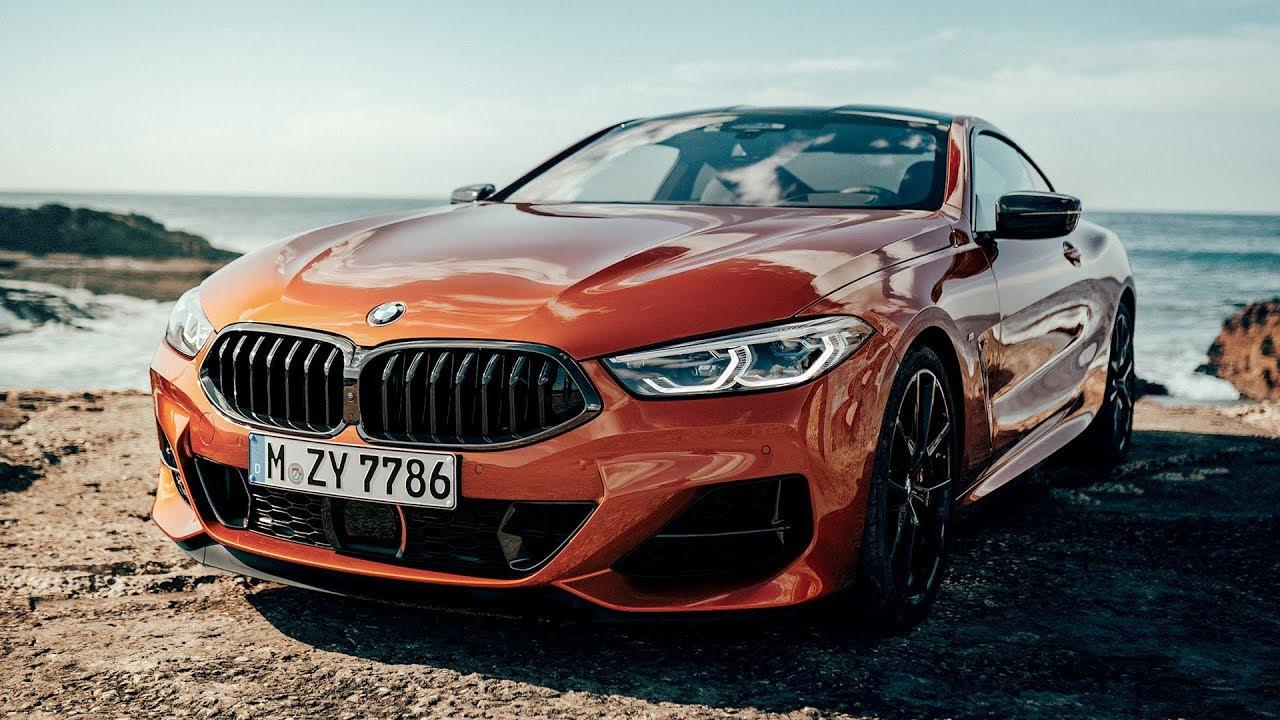 2019 Bmw M850i Xdrive Coupe Sunset Orange Metallic Exterior Interior