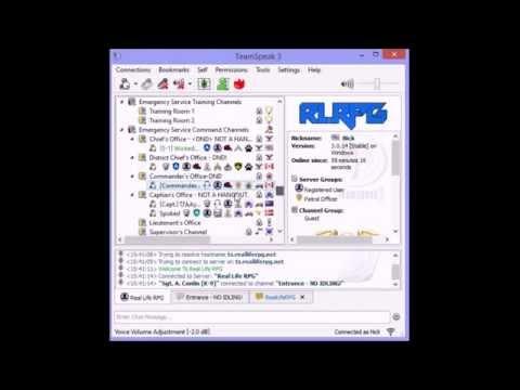 RLRPG Tutorials #2 - How to Join the RLRPG Teamspeak Server