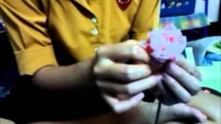Repeat youtube video ดอกไม้ประดิษฐ์จากถุงพลาสติก