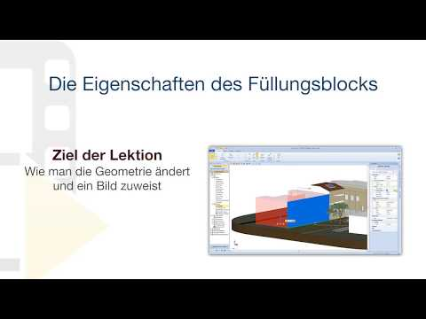 Tutorial von Edificius - Die Eigenschaften des Füllungsblocks - ACCA software thumbnail