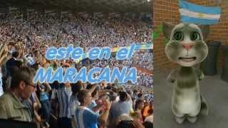 Brasil decime que se siente Gato canta la canción hinchada Argentina mundial 2014