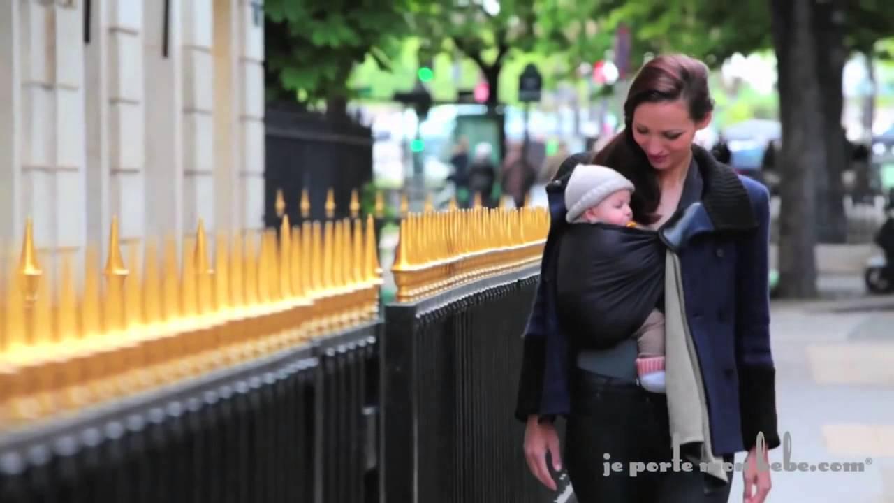 La Petite Echarpe Sans Nœud JPMBB porte bébé sling Je Porte Mon Bébé ... 44745837a8b