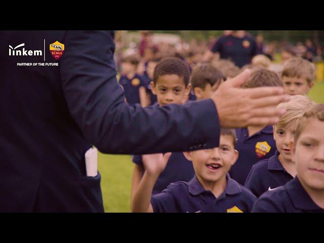 Festa di fine anno della scuola calcio dell' #ASRoma – Giugno 2018 – Linkem Partner of the Future