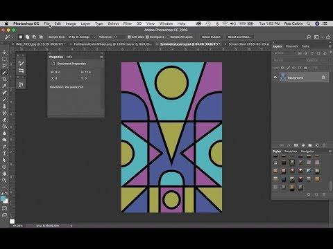Symmetrical Design Using a Gamut Mask