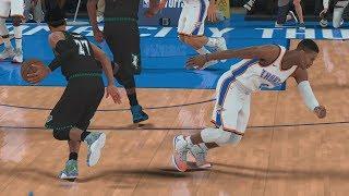 NBA 2K18 My Career - Towns Injury! SFG4 PS4 Pro 4K Gameplay