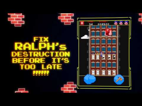 Wreck-It Ralph iOS & Android App - Available Now!