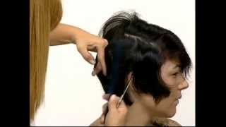 Короткая СТРИЖКА(Короткая СТРИЖКА техника стрижки стрижки на средние волосы стрижки на длинные волосы модные стрижки 2013..., 2013-10-05T16:47:46.000Z)