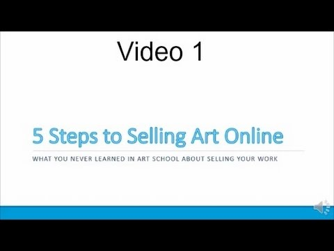 5 Steps to Selling Art Online
