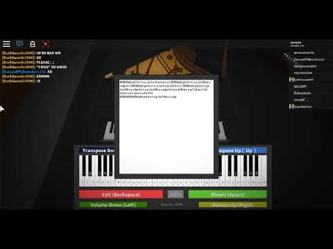 Fur Elise Roblox Piano Virtual Piano Notes In Desc Youtube