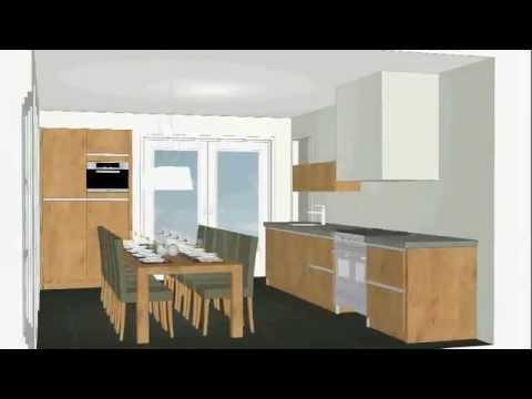 Oude Booyink Keukens, handgemaakte greeploze eiken keuken - YouTube