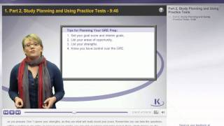 Stress Mgmt. P2-Study Planning and Using Practice Tests