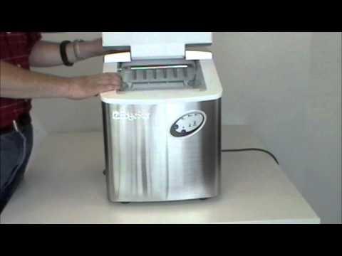 EdgeStar - IP220SS Stainless Steel Portable Ice Maker