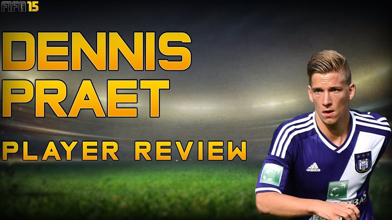 Fifa 15 Career Mode Dennis Praet Player Review 91 Rated Youtube