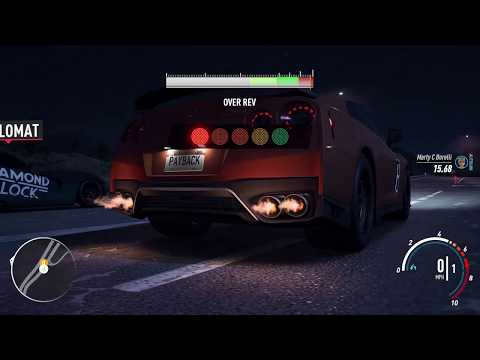Need For Speed Payback: Nissan GT-R R35 Premium 2017 (The Most Dangerous Drag)