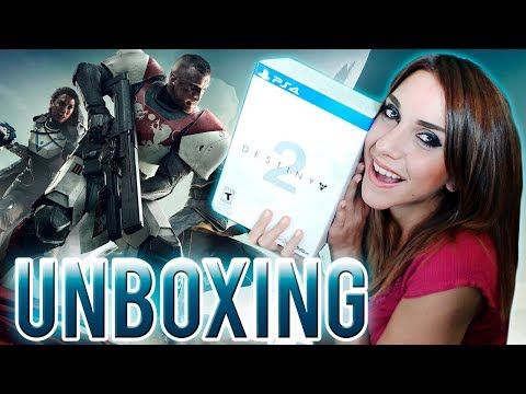 Unboxing: DESTINY 2 LIMITED EDITION │ Nadia Calá