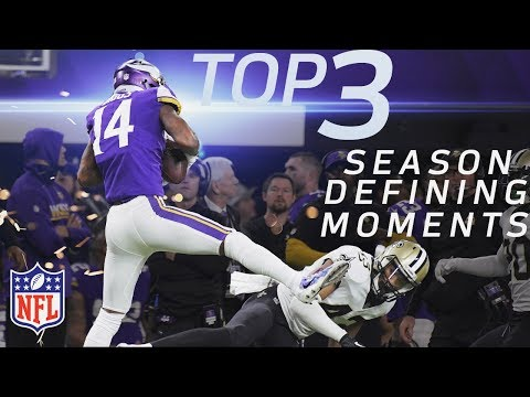 Top 3 Season-Defining Moments on the Road to Super Bowl LII for Final 4 Teams   NFL Highlights