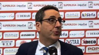 25-01-2015:Di Pinto nel post Molfetta-Trento