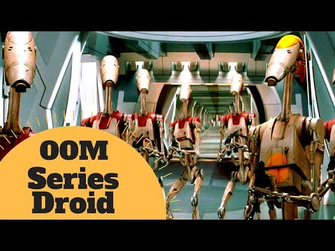 THE FIRST BATTLE DROIDS  OOMSeries Battle Droid Lore  Star Wars Canon & Legends Explained