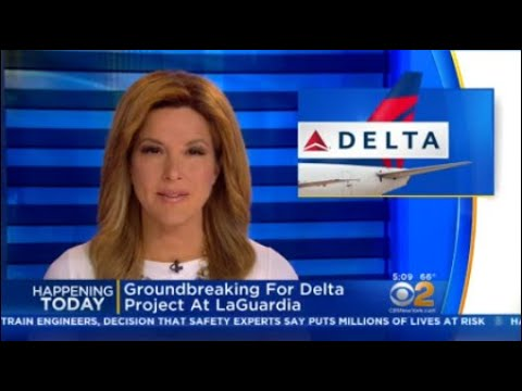 Groundbreaking For Delta Project At LaGuardia