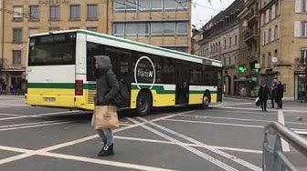 Les bus à Neuchâtel