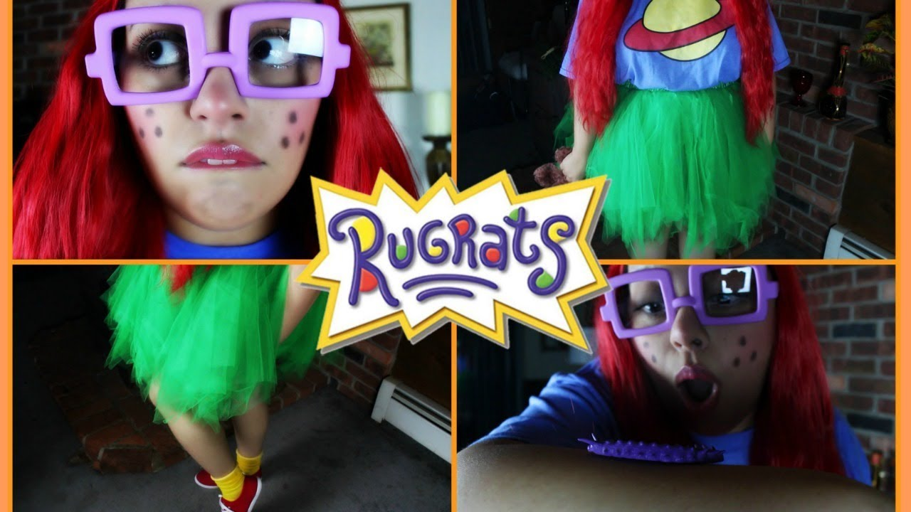 asmr halloween grwm chuckie finster transformation w rugrats facts