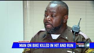 Bicyclist killed in hit and run