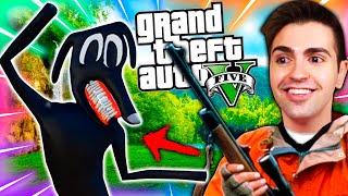 CAZANDO A CARTOON DOG en GTA 5 !! (Mods)